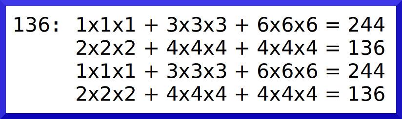 數字36的數根是二元循環數根(244_136)
